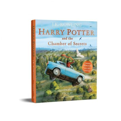 Harry Potter and the Chamber of Secrets: Illustrated Edition by J. K. Rowling