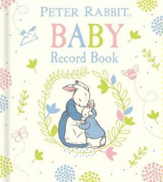 Peter Rabbit Baby Record Book by