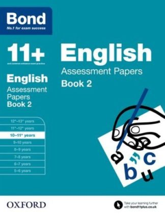 Bond 11+: English Assessment Papers 10-11 Book 2 by Sarah Lindsay