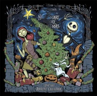 Disney Tim Burton's The Nightmare Before Christmas Pop-Up Book and Advent Calend by Editions Insight