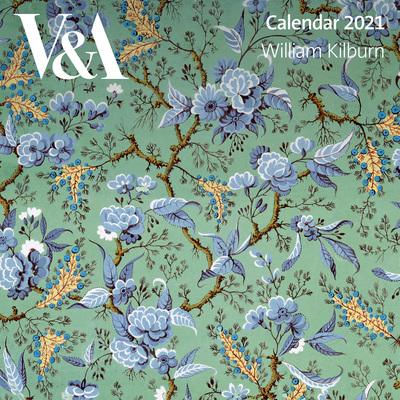 V&A - William Kilburn Wall Calendar 2021 (Art Calendar) by