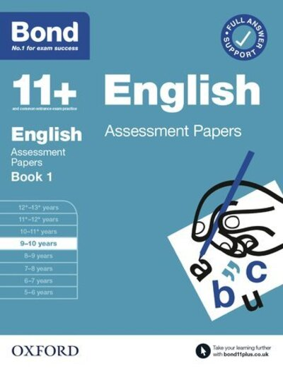 Bond 11+ English Assessment Papers 9-10 Book 1 by