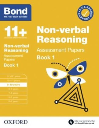Bond 11+ Non Verbal Reasoning Assessment Papers 9-10 years Book 1 by