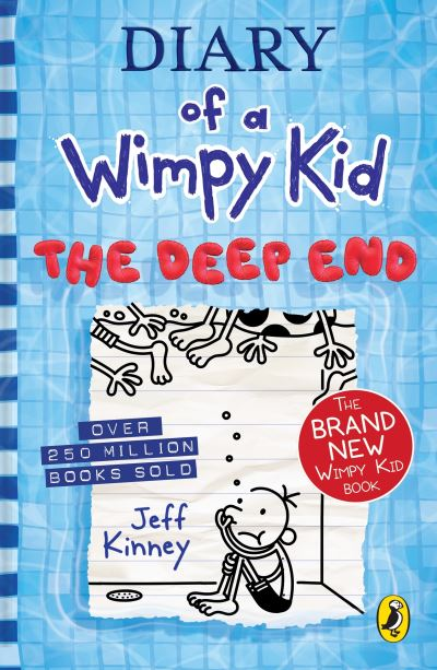 Diary of a Wimpy Kid: The Deep End (Book 15) by Jeff Kinney