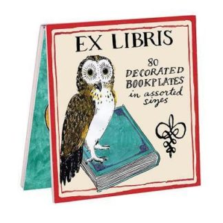 Molly Hatch Owl Bookplates by  Galison