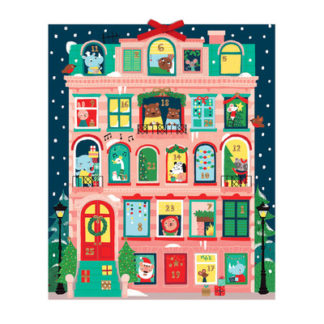 Christmas Apartment Advent Calendar by  Galison