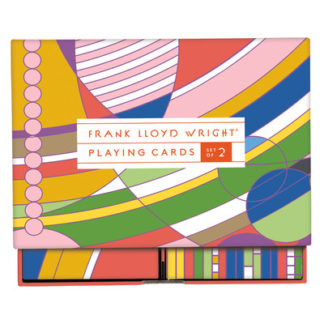 Frank Lloyd Wright Playing Card Set by Sarah McMenemy