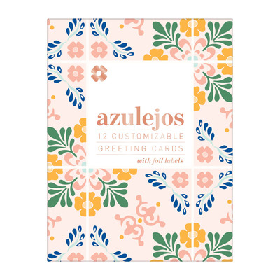 Azulejos DIY Notecard Folio by  Galison