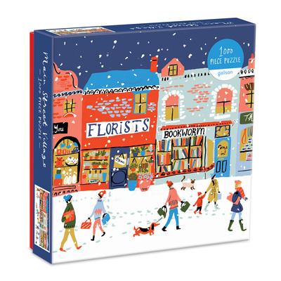 Main Street Village 1000 Piece Puzzle by  Galison
