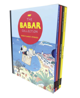 Babar (four books in slipcase) by Jean de Brunhoff