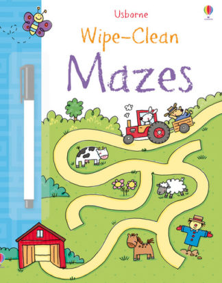 Wipe-clean Mazes by Jessica Greenwell