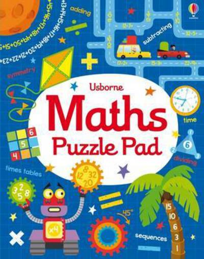 Maths Puzzles Pad by  Robson