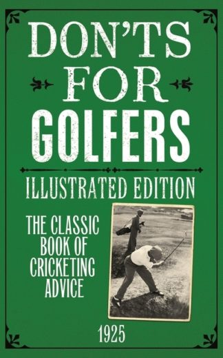 Don'ts for golfers by Sandy Green