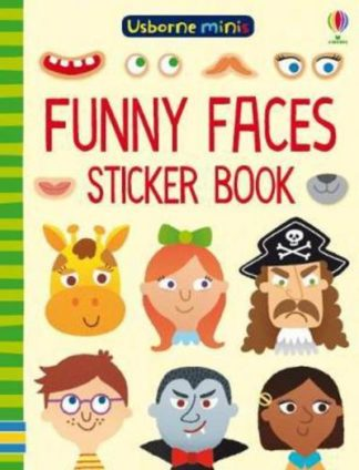 Funny Faces Sticker Book by Sam Smith