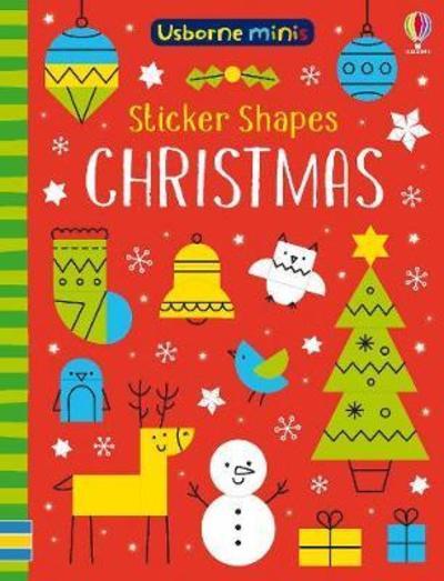 Sticker Shapes Christmas by Sam Smith