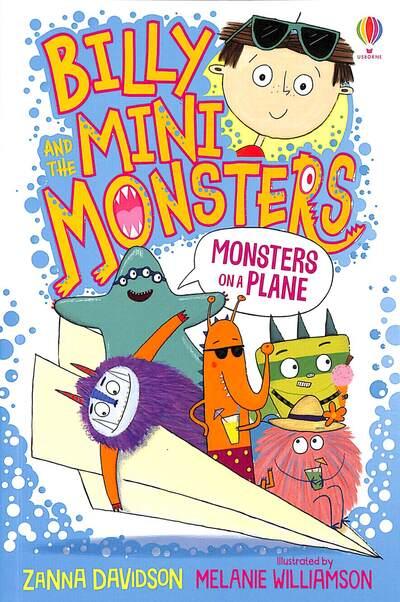 Monsters on a Plane by Zanna Davidson