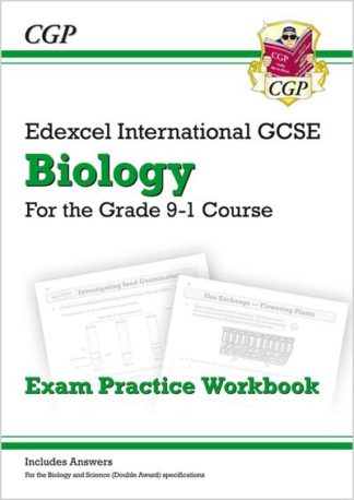 New Grade 9-1 Edexcel International GCSE Biology: Exam Practice Workbook (Includ by