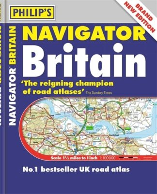 Philip's Navigator Britain: (Flexiback) by Maps Philip's