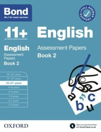 Bond 11+ English Assessment Papers 10-11 Years Book 2 by