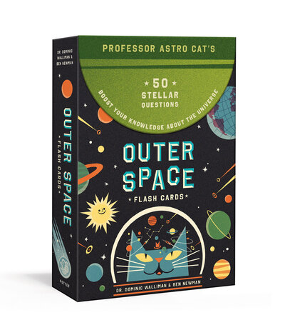 Professor Astro Cat's Outer Space Flash Cards by Dr. Dominic Walliman