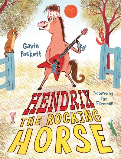 Hendrix the Rocking Horse by Gavin Puckett