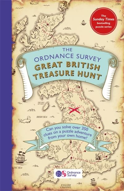 The Ordnance Survey Great British Treasure Hunt: Solve the Clues on a Puzzle Adv by Survey Ordnance