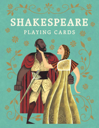 Shakespeare Playing Cards by Leander Deeny