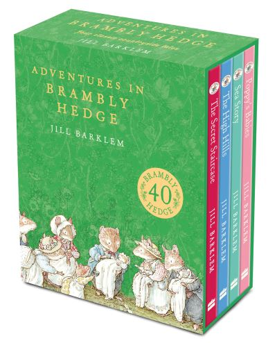 Adventures in Brambly Hedge (4 vols in slipcase) by Jill Barklem