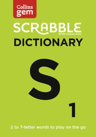Scrabble Dictionary Gem Edition by