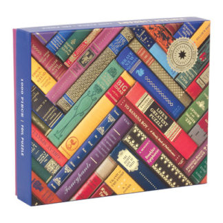Phat Dog Vintage Library 1000 Piece Foil Stamped Puzzle by