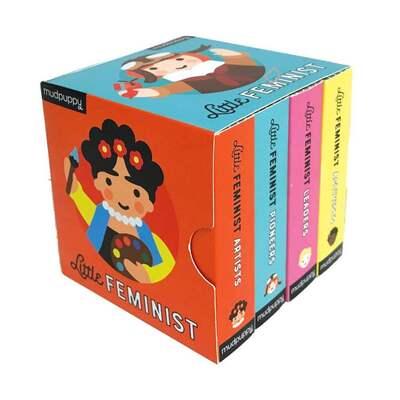 Little Feminist Board Book Set by Emily Kleinman