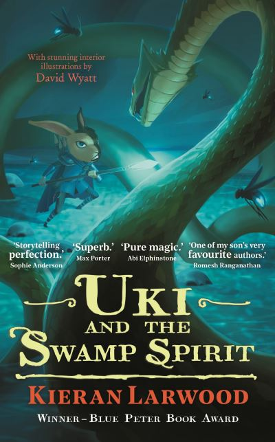Uki and the Swamp Spirit by Kieran Larwood