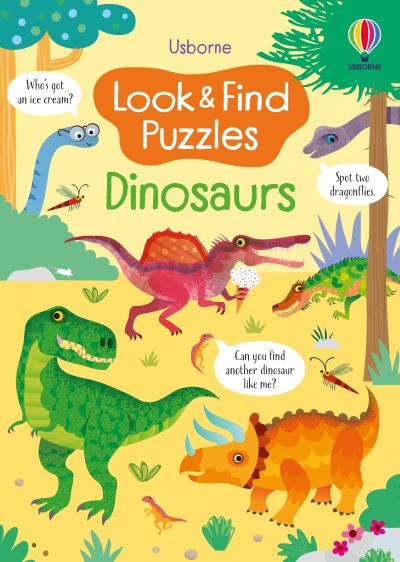 Look and Find Puzzles: Dinosaurs by Kirsteen Robson