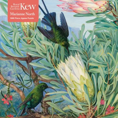 Adult Jigsaw Puzzle Kew Gardens - Marianne North: Honeyflowers and Honeysuckers by