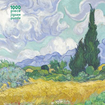 Adult Jigsaw Puzzle: Vincent van Gogh - Wheatfield with Cypress by