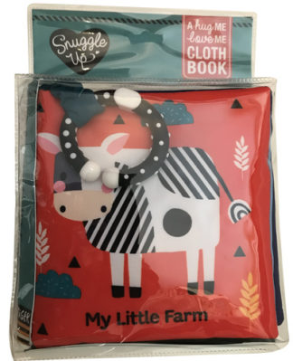 My Little Farm: A Hug Me, Love Me Cloth Book by