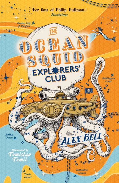 The Ocean Squid Explorers' Club by Alex Bell