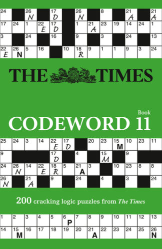 The Times Codeword 11: 200 cracking logic puzzles (The Times Puzzle Books) by Times Mind Game The