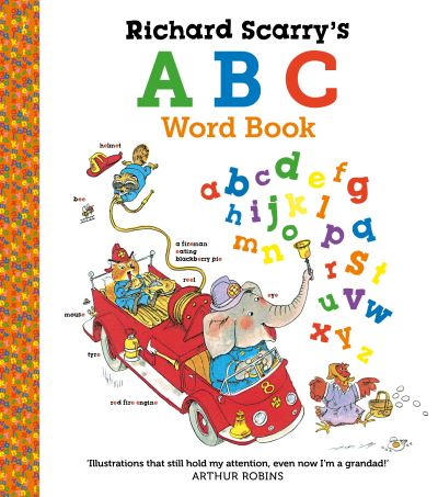 Richard Scarry's ABC Word Book by Richard Scarry
