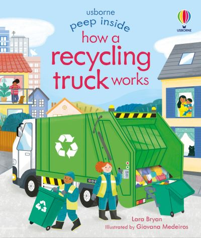 Peep Inside How a Recycling Truck Works by Lara Bryan