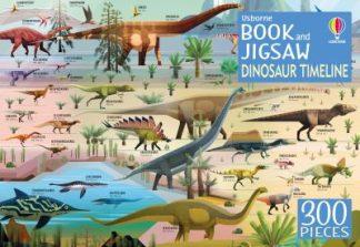 Dinosaur Timeline Book and Jigsaw by  Firth