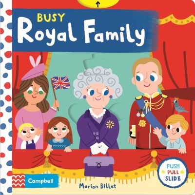 Busy Royal Family by Campbell Books