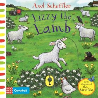 Lizzy the Lamb: A Push, Pull, Slide Book by Campbell Books