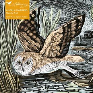 Adult Jigsaw Puzzle Angela Harding: Marsh Owl by
