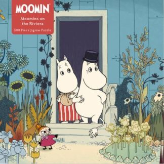 Adult Jigsaw Puzzle Moomins on the Riviera (500 pieces): 500-piece Jigsaw Puzzle by