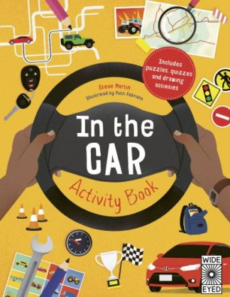 In the Car Activity Book by Steve Martin