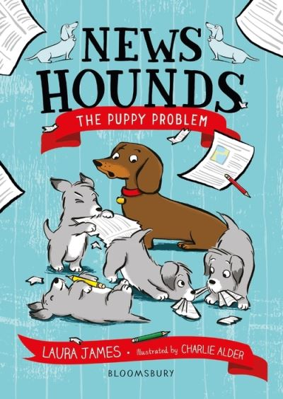News Hounds: The Puppy Problem by Laura James