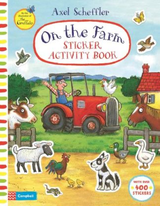 On The Farm Sticker Activity Book by Campbell Books