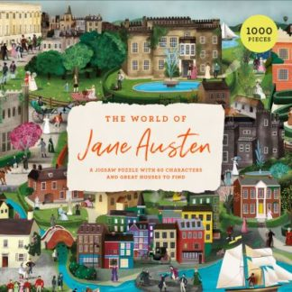 The World of Jane Austen: A Jigsaw Puzzle with 60 Characters and Great Houses to by John Mullan