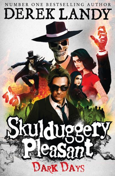 Skulduggery Pleasant: Dark Days (4) by Derek Landy